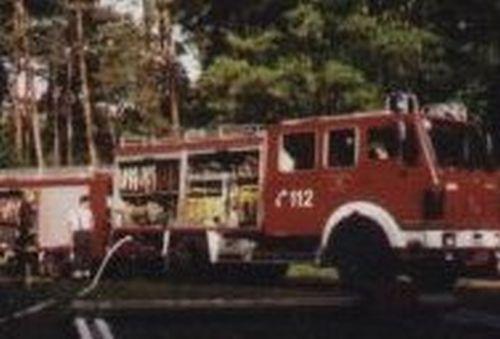 Brand auf der Bahnstrecke